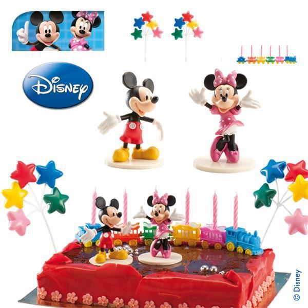 D corations g teau mickey minnie achat vente for Decoration maison mickey