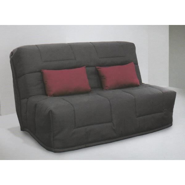 banquette bz lina couleur gris achat vente bz cdiscount. Black Bedroom Furniture Sets. Home Design Ideas