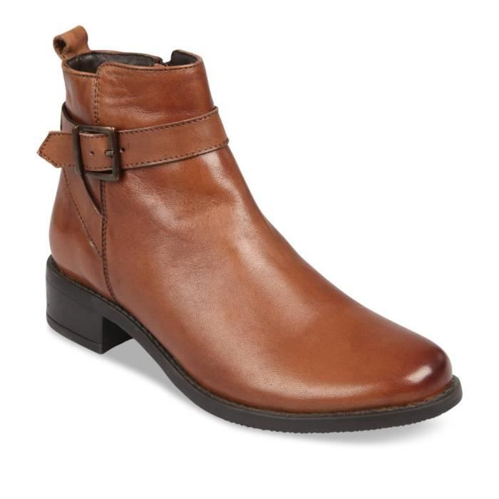 CASUAL MARRON Femme Bottines Marron MEGIS Achat Chaussea uc5lTFK13J