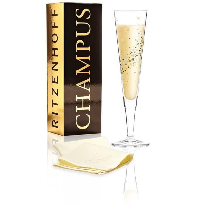 Sektflöte Champa Champagnerflöte 0,2l Iris Interthal 2017 Ritzenhoff CHAMPUS