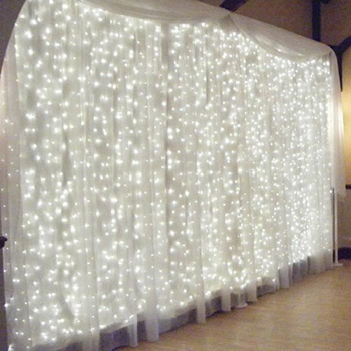 environ 2.01 m DEL Noël Guirlande Arbre Fairy String Lights Batterie Fête De Mariage Decor 6.6 Ft