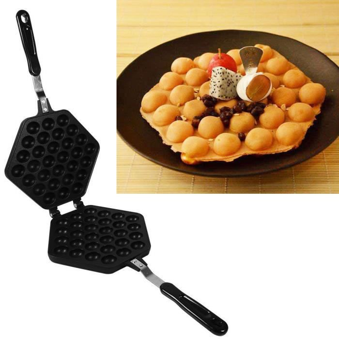 antiadh sive machine gaufre lectrique gaufrier diy pan oeuf bubble cake plaque mouler. Black Bedroom Furniture Sets. Home Design Ideas