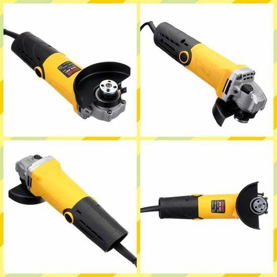 220V 1200W 115mm 4.5/'/' Meuleuse d/'angle électrique Disqueuse Vitesse Réglable