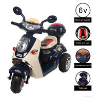 cristom vespa moto electrique 6 volts mp3 3662293006885 achat vente moto scooter. Black Bedroom Furniture Sets. Home Design Ideas