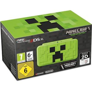 CONSOLE NEW 2DS XL Console New Nintendo 2DS XL Minecraft - Creeper Ed