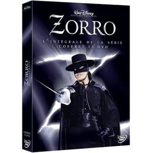 DVD SÉRIE DISNEY CLASSIQUES - Coffret 13 DVD Zorro - L'intég