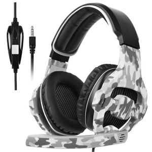 CASQUE AVEC MICROPHONE ANTCOOL(R) SA810 Multi-Platform Gaming Headset jeu