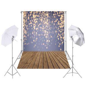 FOND DE STUDIO 1.5 * 2.1 m / 5 * 7ft Photographie Fond Glitter Sp