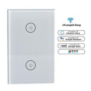 PLAQUE DE FINITION Smart Life Wi-Fi Rideau Commutateur Télécommande P