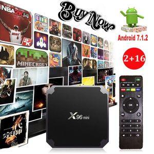 BOX MULTIMEDIA X96MINI S905W 2+16G Android7.1.2 Nougat KODI Quad