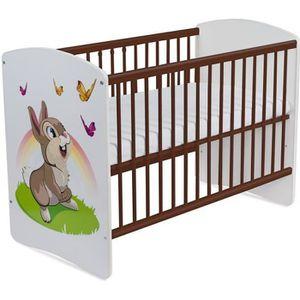 LIT BÉBÉ Lit pour Bébé à barreaux TOMI 17 -