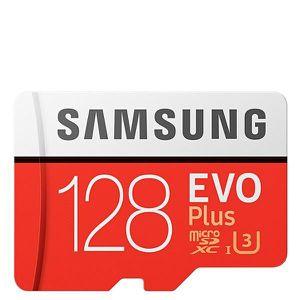 CARTE MÉMOIRE SAMSUNG 128GB EVO avec plus Micro SDXC UHS-3 jusqu