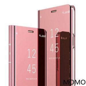 HOUSSE - ÉTUI Coque Samsung Galaxy S9,Clear View Etui à Rabat Co