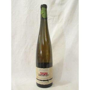 VIN BLANC gewurztraminer wolfberger blanc 2004 - alsace fran
