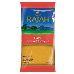 EPICE - HERBE Rajah - Curcuma en poudre-poudre de Haldi - 400 g