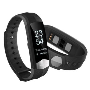 MONTRE CONNECTÉE CD01 ECG tensiomètre Smart Band Bluetooth sport br