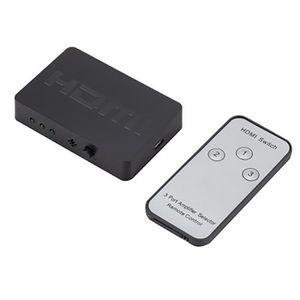REPARTITEUR TV Commutateur répartiteur HDMI standard 3 en 1 sorti