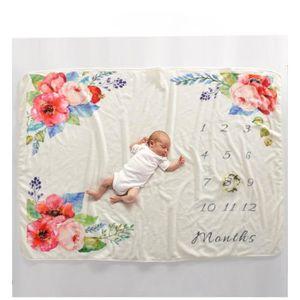 COUVERTURE - PLAID BÉBÉ Couverture bébé Plaid de photographie 102x152cm mo