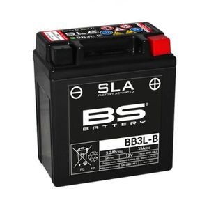BATTERIE VÉHICULE Batterie BS BATTERY BB3L-B SLA sans entretien acti