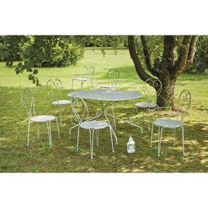 Table de jardin romantique