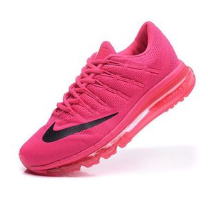 new style ever popular superior quality Femmes Nike Air Max 2016 Baskets Chaussures de running rose et ...