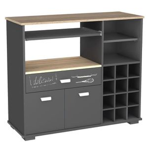 buffet de cuisine achat vente buffet de cuisine pas cher cdiscount. Black Bedroom Furniture Sets. Home Design Ideas