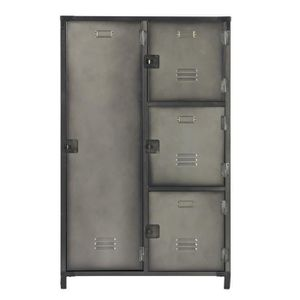armoire metallique industrielle achat vente pas cher. Black Bedroom Furniture Sets. Home Design Ideas