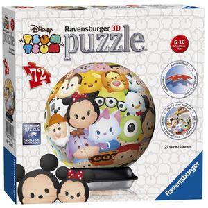 PUZZLE Puzzle 72 pièces Puzzle 3D - Disney Tsum Tsum