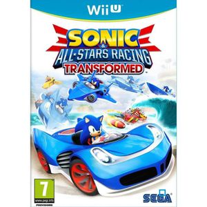 JEUX WII U Sonic and All Stars Racing Transformed: Limited Ed