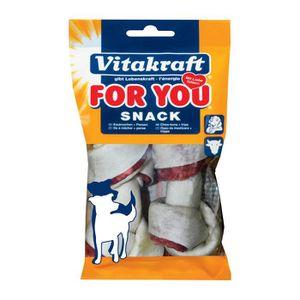 FRIANDISE VITAKRAFT Os blancs bœuf - P/2 - Pour chien