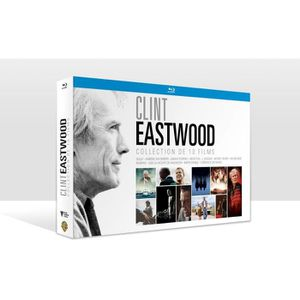 BLU-RAY FILM COFFRET EASTWOOD 2017 /V 10BD