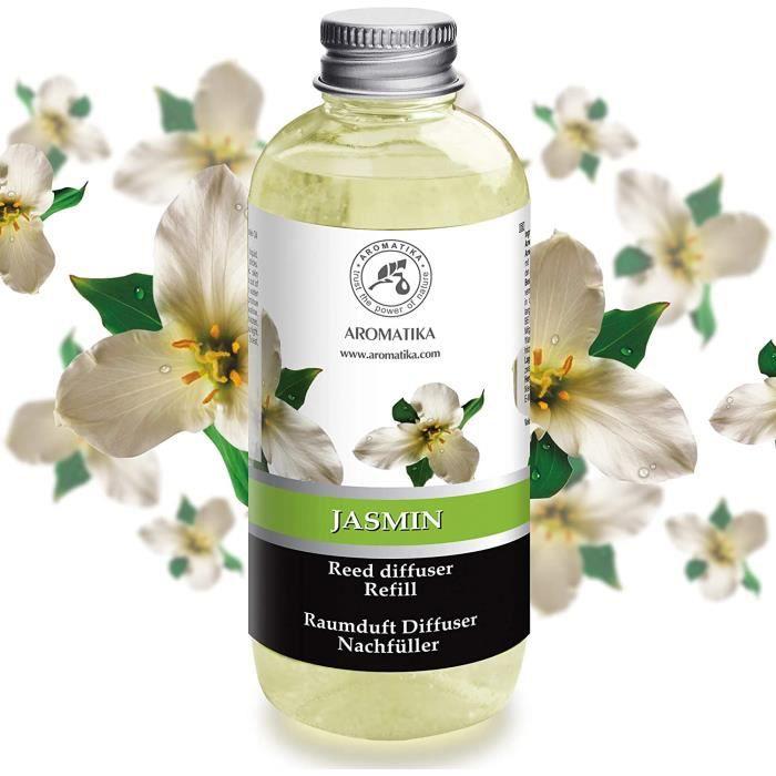 AROMATIKA Recharge pour Diffuseur de Jasmin 500 ml parfum diffuseur