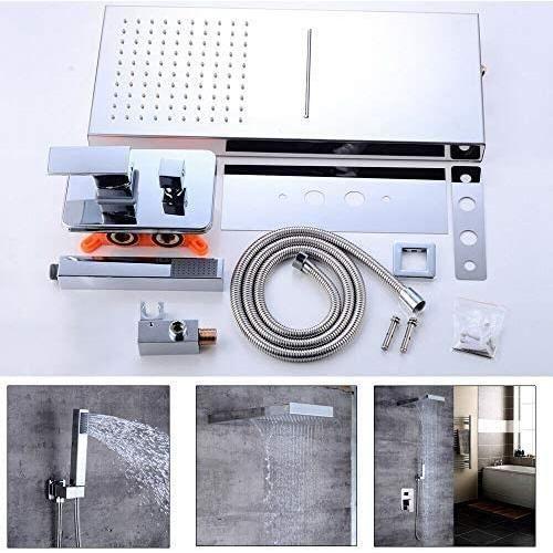Système de douche ensemble de douche encastré raccord de douche système de douche