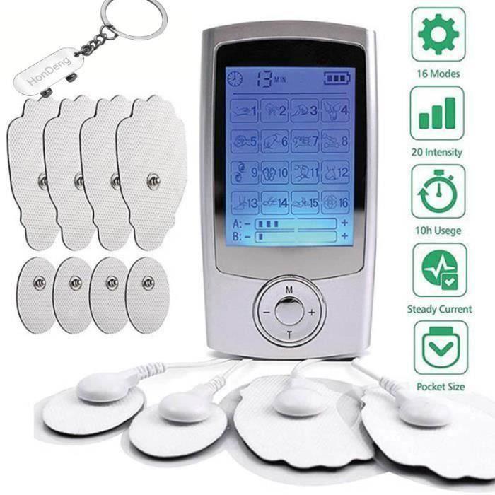 Anti Douleur Electrostimulation Appareil Douleurs Massage, Pour le Traitement Courbatures au Dos, Épaules, Sciatique