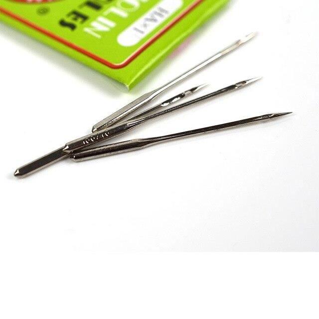 Aiguilles pour Machine à coudre en acier 14-16-18, 10 pièces, pour Singer, pour le couture domestique Durable, outils de*PL10408