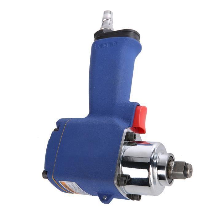 AYNEFY Clé à chocs pneumatique Outil pneumatique industriel de clé à douille d'air de clé à chocs 9000rpm