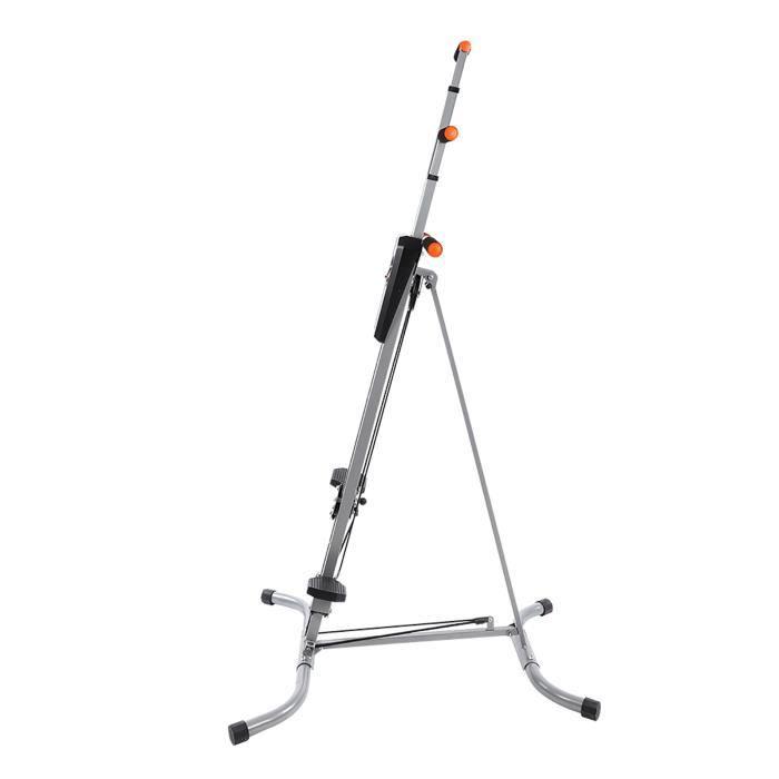Grimpeur vertical, machine d'exercice cardio s'élevante de stepper résistant de forme physique de cadre en acier pour