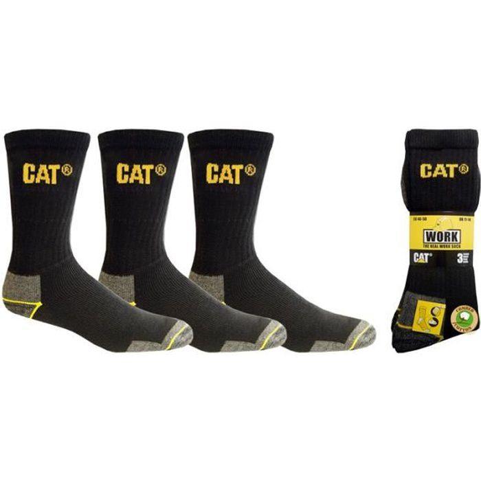 Lot de 3 paires de chaussettes Taille 41-45 CATERPILLAR C123BK