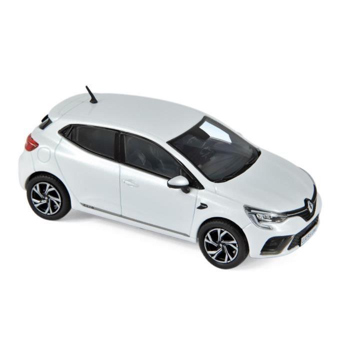 Véhicule Miniature assemble - Renault Clio RS Line Blanc perle 2019 1/43 Norev