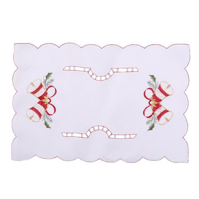 1 PC tasse à manger Pad plat de noël napperon Table décoration accessoires tapis de pour fête de APPAREIL DE MASSAGE MANUEL