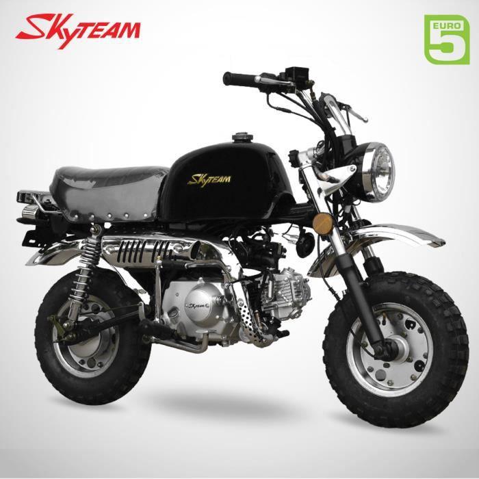 Mini Moto - GORILLA 50 - Noir - SKYTEAM