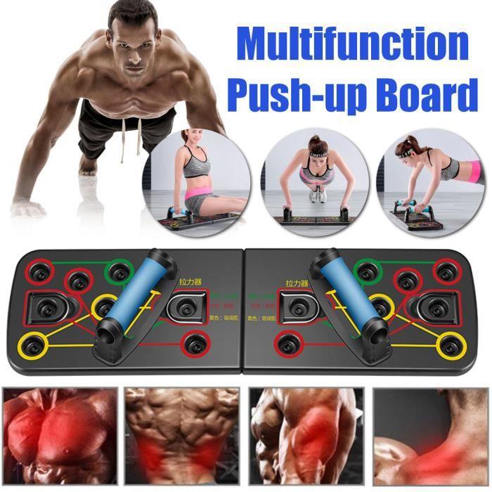 Push Up Board Homme Femme Planche de Musculation Multifonction