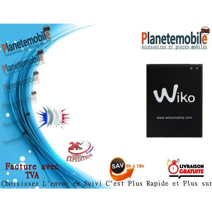 Batterie Originale Pour Wiko Jerry 3