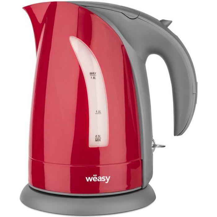 WEASY SW8 - Bouilloire électrique 1,8 L - Rouge