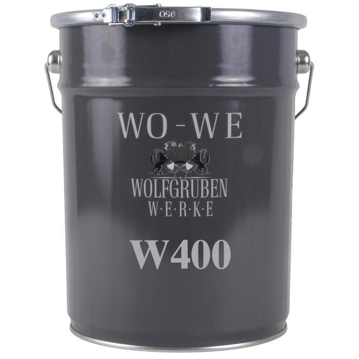 10L - Vernis marin pour Bois - Mat - Résistant, élastique - W400