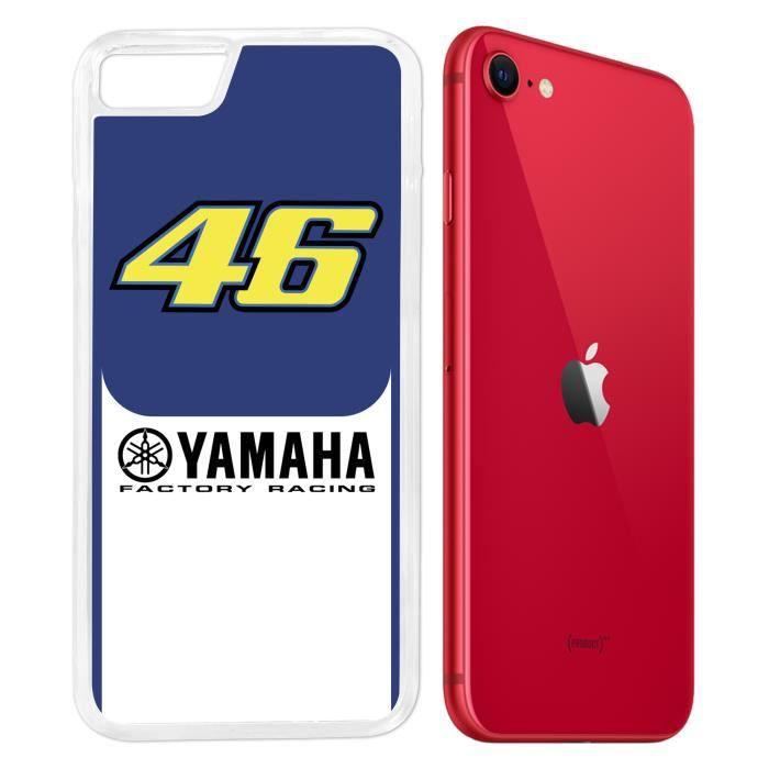 Coque iPhone SE 2020 - Yamaha Racing 46 Rossi Moto