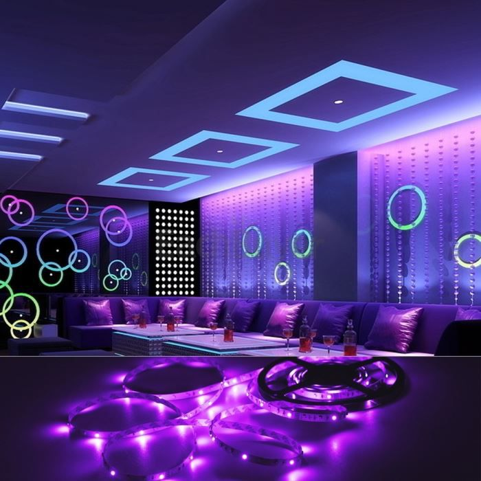 bande lumineuse led. Black Bedroom Furniture Sets. Home Design Ideas