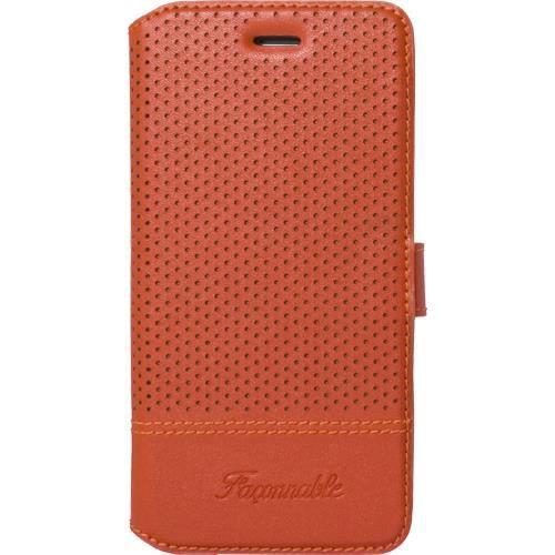 etui faconnable orange perfore pour iphone 6 6s