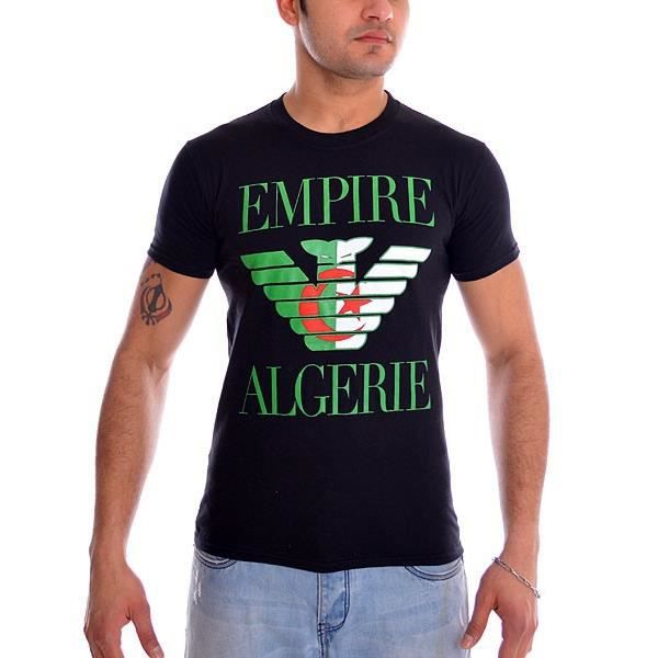 tshirt empire algerie noir multicolore achat vente t shirt tshirt empire algerie noir. Black Bedroom Furniture Sets. Home Design Ideas