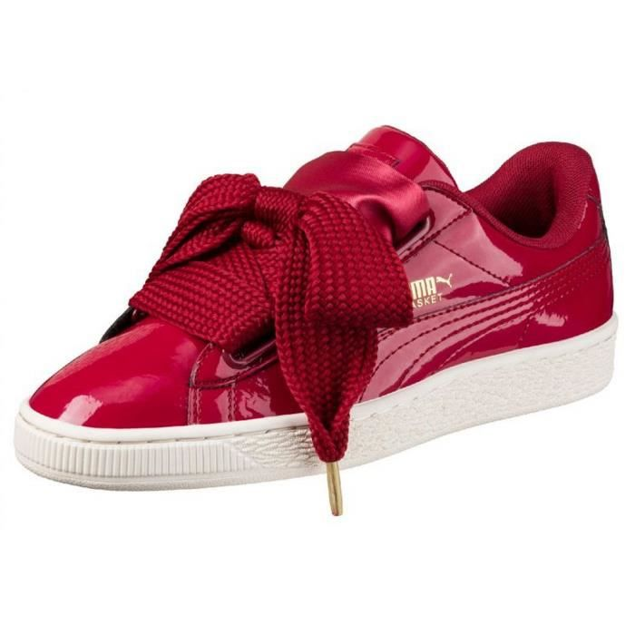 puma heart enfant rouge